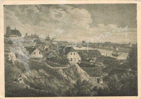 Szczecin. Panorama z czasów Bogusława I