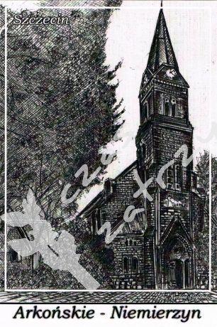 Arkońskie - Niemierzyn, Parafia Rzymskokatolicka pw. św. Kazimierza ul. Broniewskiego 18 Szczecin
