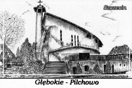 Szczecin. Głębokie - Pilchowo, Parafia pw. Św. Brata Alberta przy ul. Zegadłowicza 20