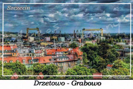 Szczecin. Drzetowo - Grabowo, widok na osiedle