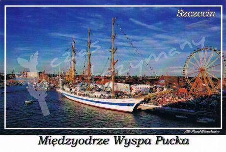 Szczecin. Międzyodrze Wyspa Pucka, na zdjęciu wyspa Łasztownia