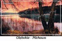 Szczecin. Głębokie - Pilchowo,  jezioro Głębokie.