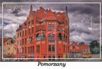 Szczecin. Pomorzany, Zakład Gazowniczy ulica Tama Pomorzańska 26
