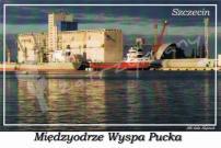 """Szczecin. Międzyodrze Wyspa Pucka, Elewator zbożowy """"EWA"""""""