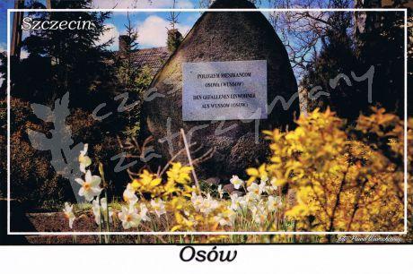 Szczecin. Osów, pomnik pamięci poległym mieszkańcom Osowa podczas I wojny światowej
