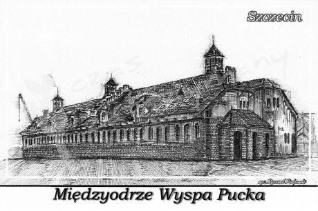 Szczecin. Międzyodrze Wyspa Pucka, dawny miejski zakład rzeźniczy