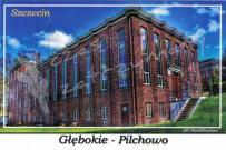 Szczecin. Głębokie - Pilchowo, stacja wodociągowa w Pilchowie przy ulicy Wodociągowej 5