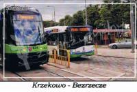 Szczecin. Krzekowo - Bezrzecze, pętla autobusowo - tramwajowa