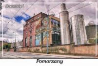 """Szczecin. Pomorzany, ulica Chmielewskiego, browar """"Bosman"""""""