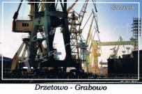 Szczecin. Drzetowo - Grabowo, dźwigi w Stoczni Szczecińskiej.